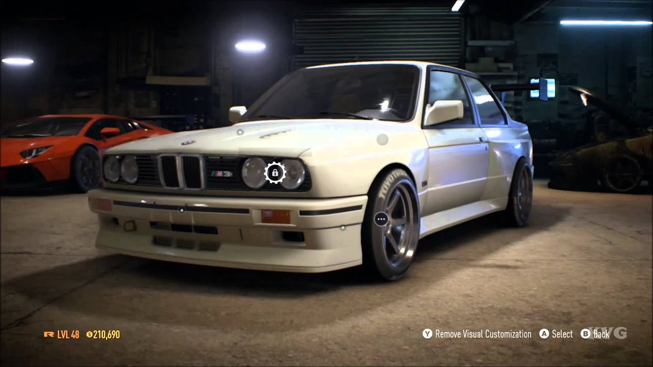 Need For Speed 2015 - BMW M3 Evolution II E30 1988 - Tuning & Free ...