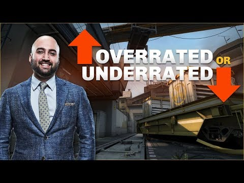Moses plays CSGO Overrated or Underrated