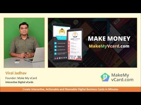 Digital Business Card - White Label Reseller Program to Make Money