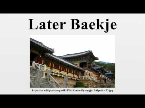 Later Baekje