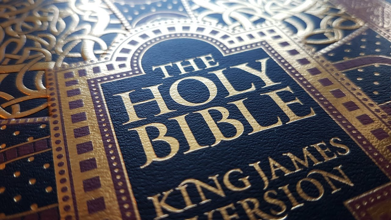 The Holy Bible - Barnes & Noble Leatherbound review - YouTube