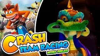 ¡Un rival Komodo! - #03 - Crash Team Racing Nitro-Fueled (PS4 Pro) DSimphony