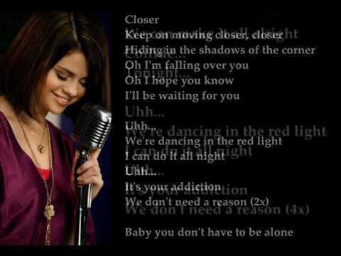 Red Light - Selena Gomez New Song 2010 (With Lyrics).wmv
