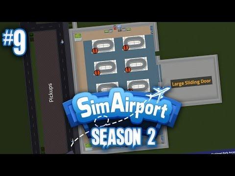SimAirport Season 2 #9 Planning A New Huge Baggage Claim Area