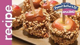 Peanut Butter Caramel Apples Recipe