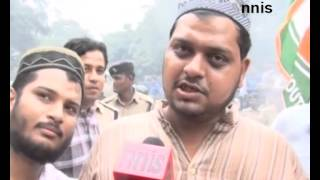 nsui protests against comments of aq khan on kalam