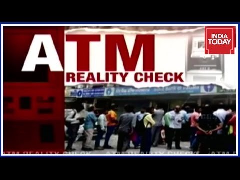ATM Reality Check : Delhi Worst Hit With No Cash Post Demonetization