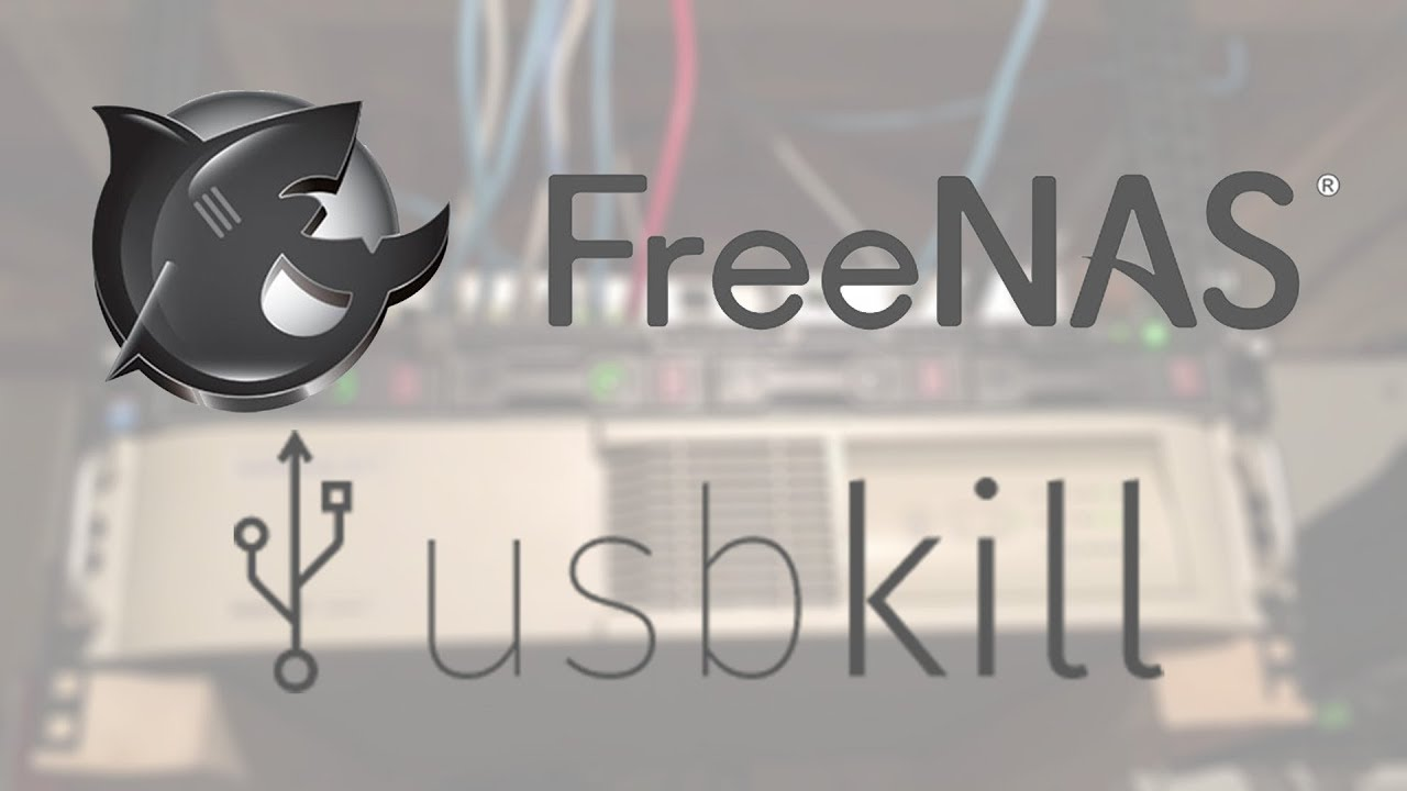 Raid-Proof Your FreeNAS with USBKill