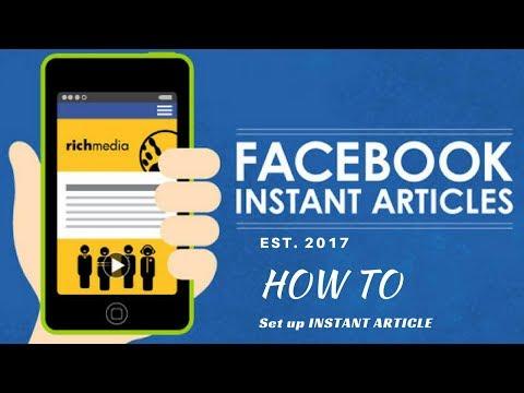 Instant Articles Set up Full Bangla Tutorial 2017 (Re-make)