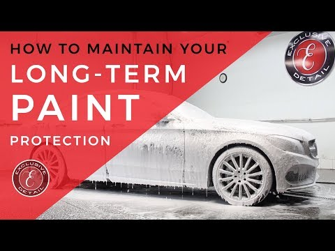 How to Wash Paint Protection Film and/or Ceramic Coating. Exclusive Paint Protection Charlotte NC