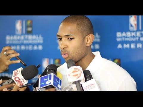 Al Horford habla sobre sus limitaciones a jugar con la Selección Dominicana
