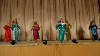 Танец с тростью