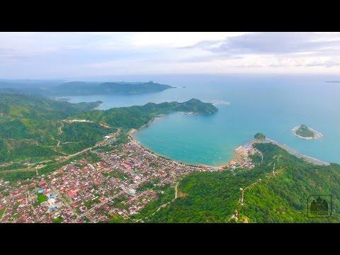 Video Aerial Wisata Sumatera Jam Gadang Bukit Tinggi Istana Pagaruyung Kelok 9