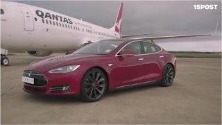 ¿Cual gana la carrera entre un auto Tesla S contra un avión 737? - 15 POST