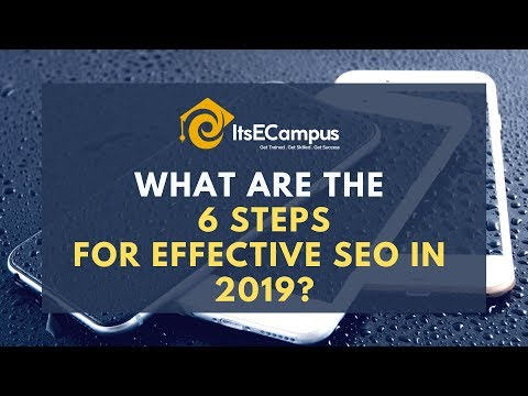 6 Steps for Effective SEO - ItsECampus | SEO Online Tutorials - Tips and Tricks