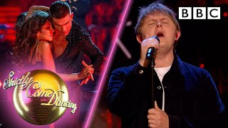 Lewis Capaldi and Strictly Pros perform 'Someone You Loved'  - Week 2 | BBC Strictly 2019
