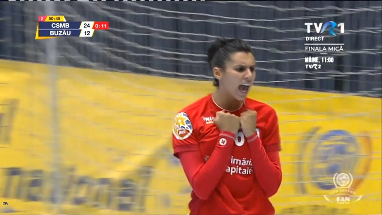CSM București - SCM Gloria Buzău • Semifinale Cupa României 2019-2020