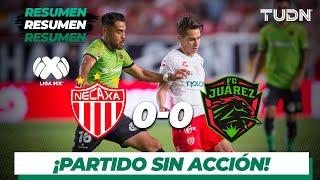 Resumen | Necaxa 0 - 0 FC Juárez | Liga Mx - AP 19 - J 12 | TUDN