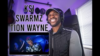 KSI – Houdini (feat. Swarmz & Tion Wayne) [Official Music Video] [Reaction] | LeeToTheVI