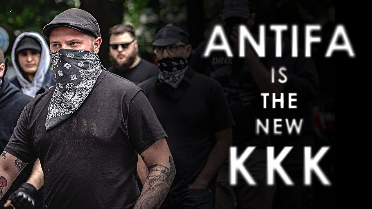 Mr. Reagan Antifa is The New KKK