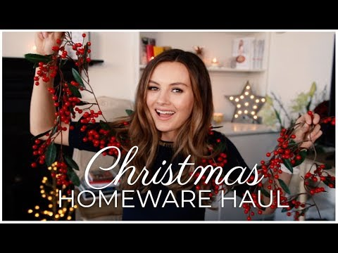HUGE CHRISTMAS HOMEWARE HAUL!   Niomi Smart