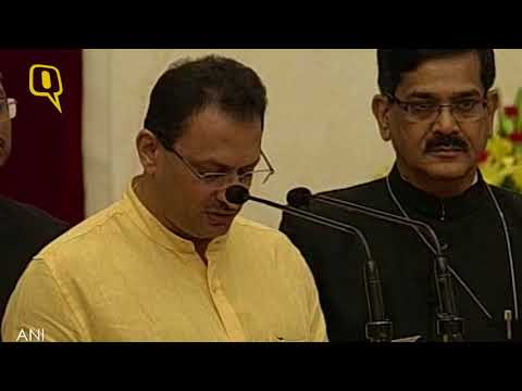 Anant Kumar Hegde takes oath as Minister of State