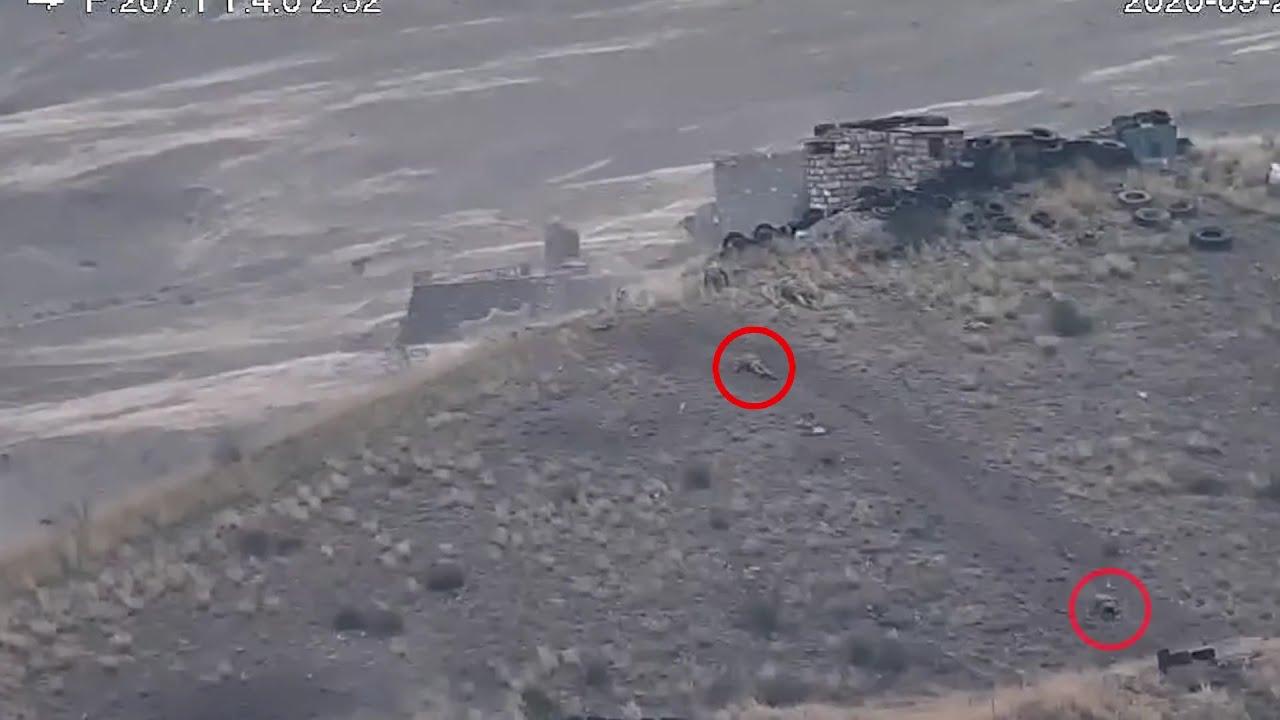 Տեսանյութ.Ինչպես  են դիմում փախուստի ազերիները.կրակ է վարել ՀՀ ԶՈՒ Վարդենիսի զորամասի, ինչպես նաև օդուժ են կիրառել դիրքերի ուղղությամբ