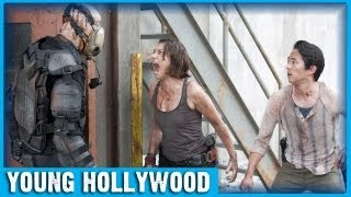 Zombie Survival Tips With THE WALKING DEAD Star Steven Yeun!