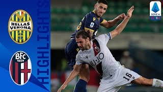 Hellas Verona 1-1 Bologna | Stunning Free Kick Earns a Draw for 10-Man Verona | Serie A