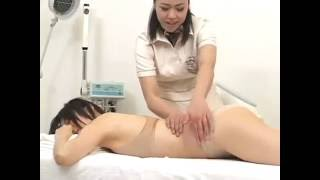 Two lesbians yoga with massage Erotic
