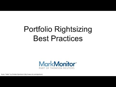 Domain Portfolio Rightsizing Best Practices