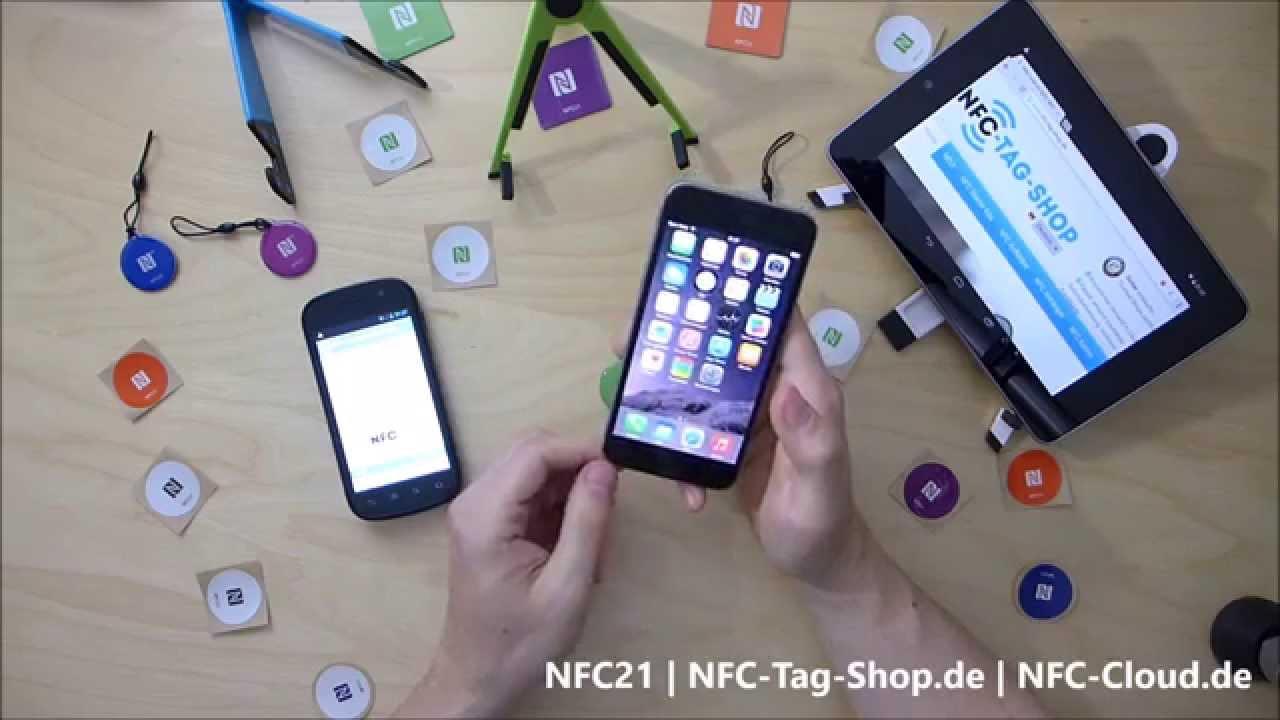 Iphone 6 Und Nfc Der Test Mit Nfc Tags