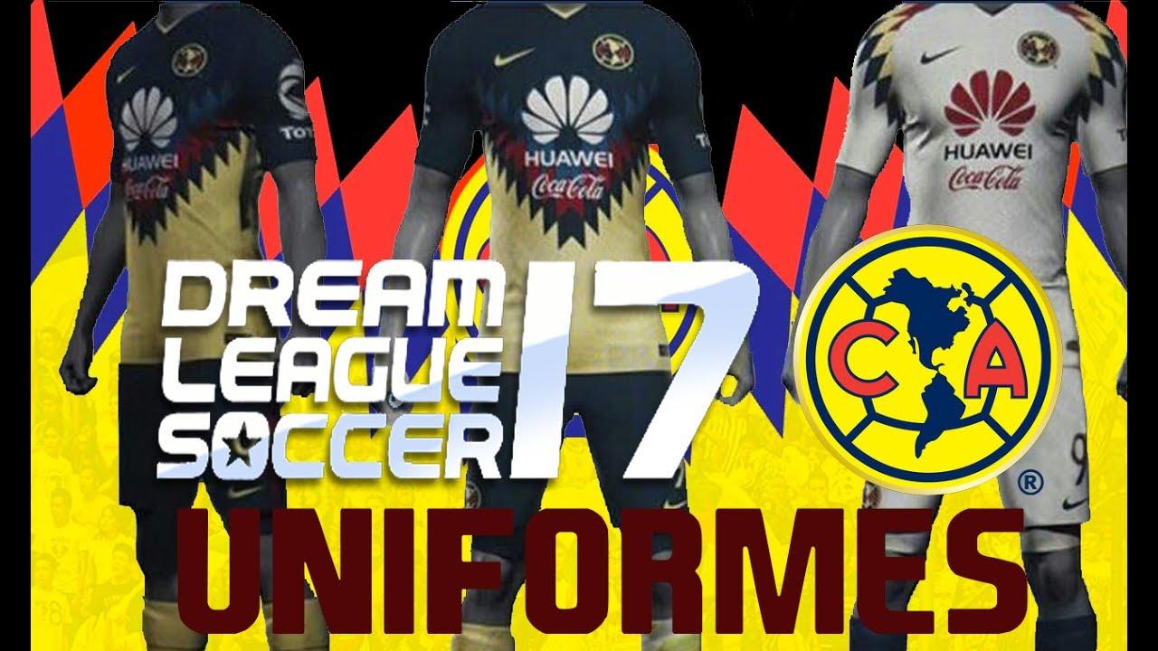 Uniformes club am rica 2017 2018 para dream league soccer for Cuarto kit del america 2018
