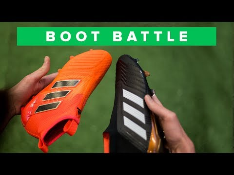 adidas Predator 18+ vs ACE 17+ | football boot control battle