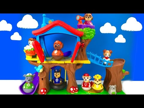 Thumbnail: Best Learning Colors Video for Children - Paw Patrol Weebles Treehouse Playground