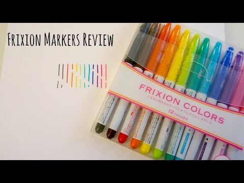 pilot-frixion-markers-review---erasable-markers