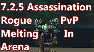 One Shotting in 2v2 - 7.2.5 Assassination Rogue PvP - WoW Legion