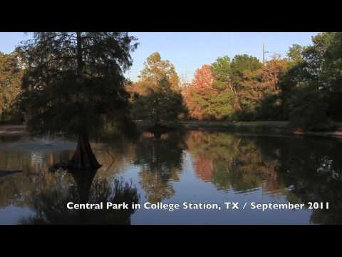 Central Park in College Station, TX - Canon 7D