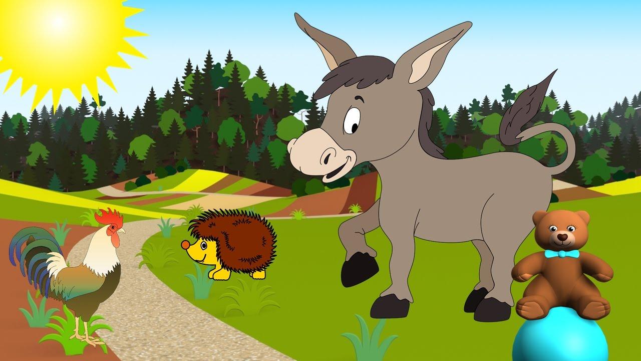 Jak dělají zvířátka 2 video pro malé děti - YouTube