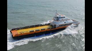 50m Catamaran Crewboat - Seacor Cheetah - designed by Incat Crowther