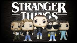 STRANGER THINGS Funko Pops Elevated Eleven & Steve with Glasses Funko Pop Review