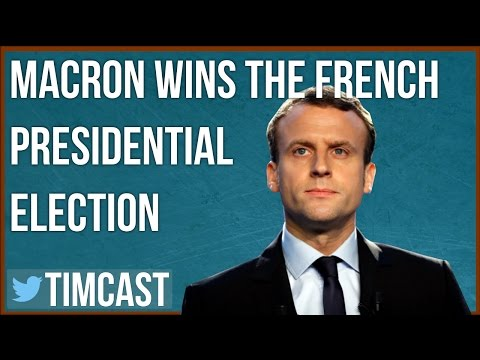 MACRON DEFEATS MARINE LE PEN IN FRENCH ELECTION