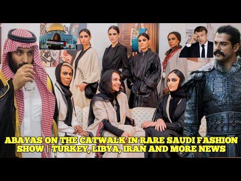 Fashion Abayas By Safia Hussain Showcased In Riyadh || Reel Osman Gazi Meet Ramzan Kadyrov