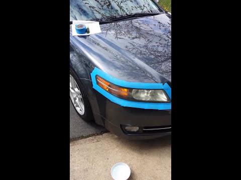 Acura TL/Honda 2004-2007/2008 Headlight Restoration