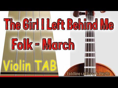 the-girl-i-left-behind-me---folk---march---violin---play-along-tab-tutorial