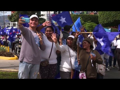 Supporters of Honduras president take to the streets