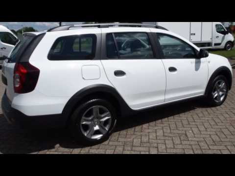 dacia logan mcv 1 5 dci s rie limit e stepway parkeersensoren navigatie airco youtube. Black Bedroom Furniture Sets. Home Design Ideas