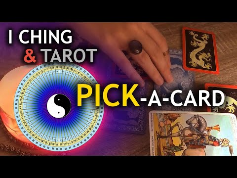 ASMR Pick a Question, Figure Out The Solution - I Ching & Tarot