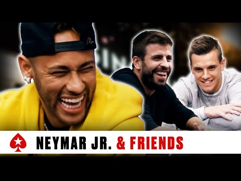 Neymar Jr. Charity Special - Part 2 ♠️  EPT Barcelona 2018 ♠️  PokerStars Global