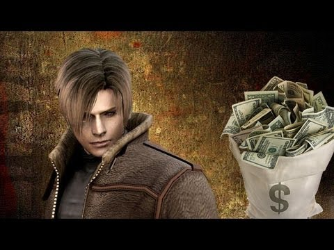 Resident Evil 4 money farming (infinite ptas)